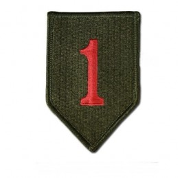 Patch US Red Big One