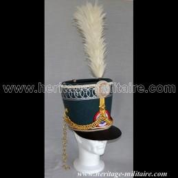 Shako Officier Colonel Marbot 7ème Hussard N1er