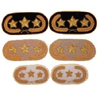 Officers collar tabs
